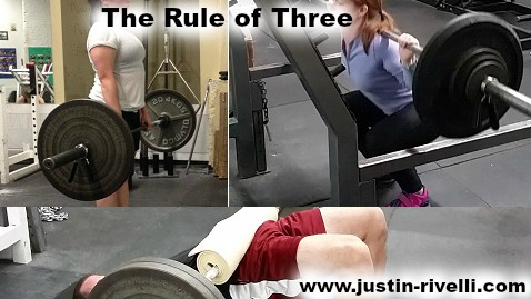 The Rule of Three (Fitness Version)