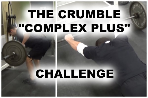"The Crumble ""Complex Plus"" Challenge"