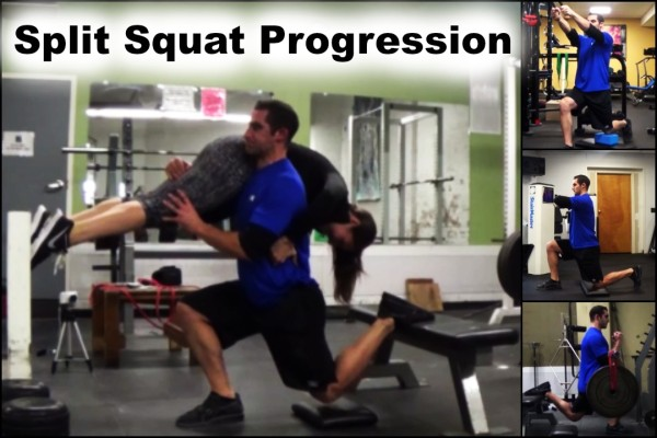 Split Squat Progression (Over 70 Exercise Variations)