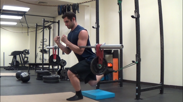 An Amazing Rear Leg Elevated Split Squat Variation