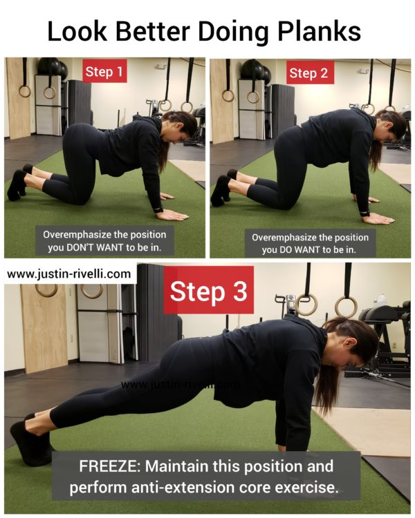 Look, Feel, & Perform Better Doing Planks, Push-ups, & Ab Wheel Rollouts