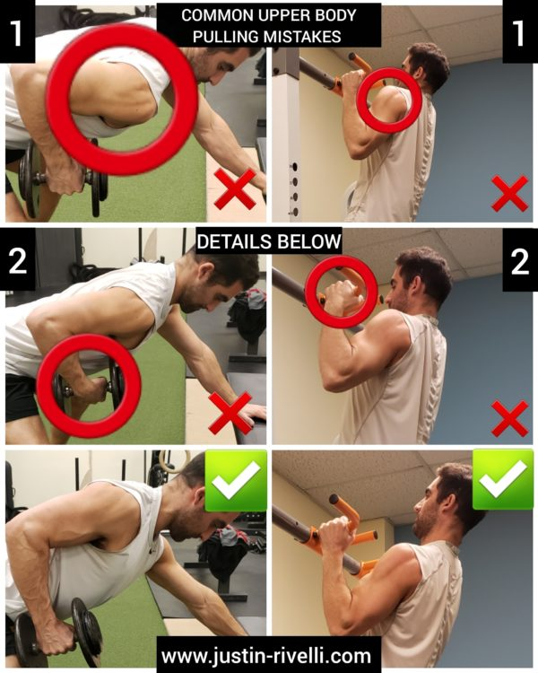 Two Common Rowing & Pull-up Mistakes