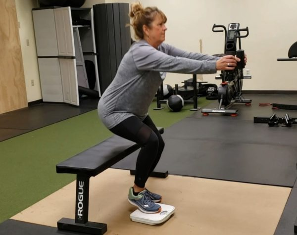 Using The Scale During Unilateral Movements